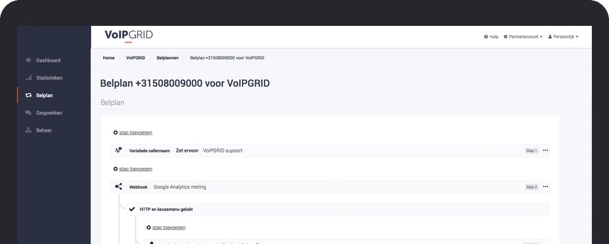 Portal VoIPGRID