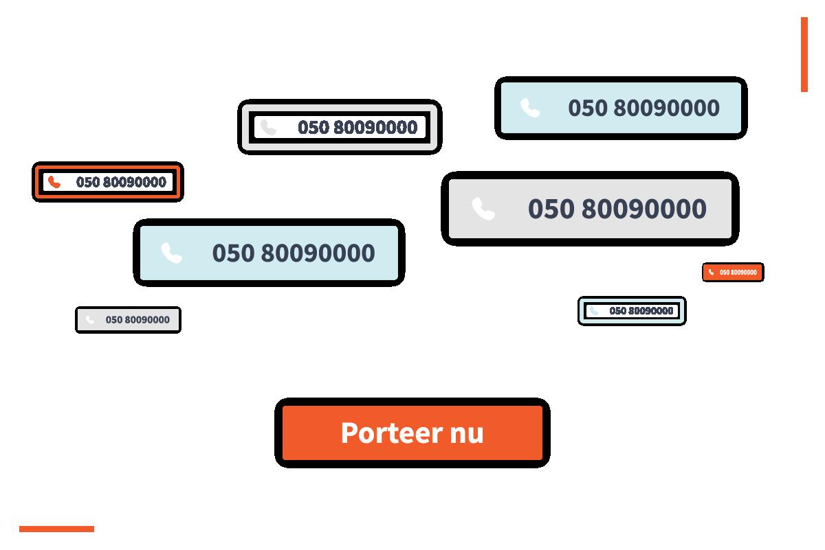 VoIP platform porteren